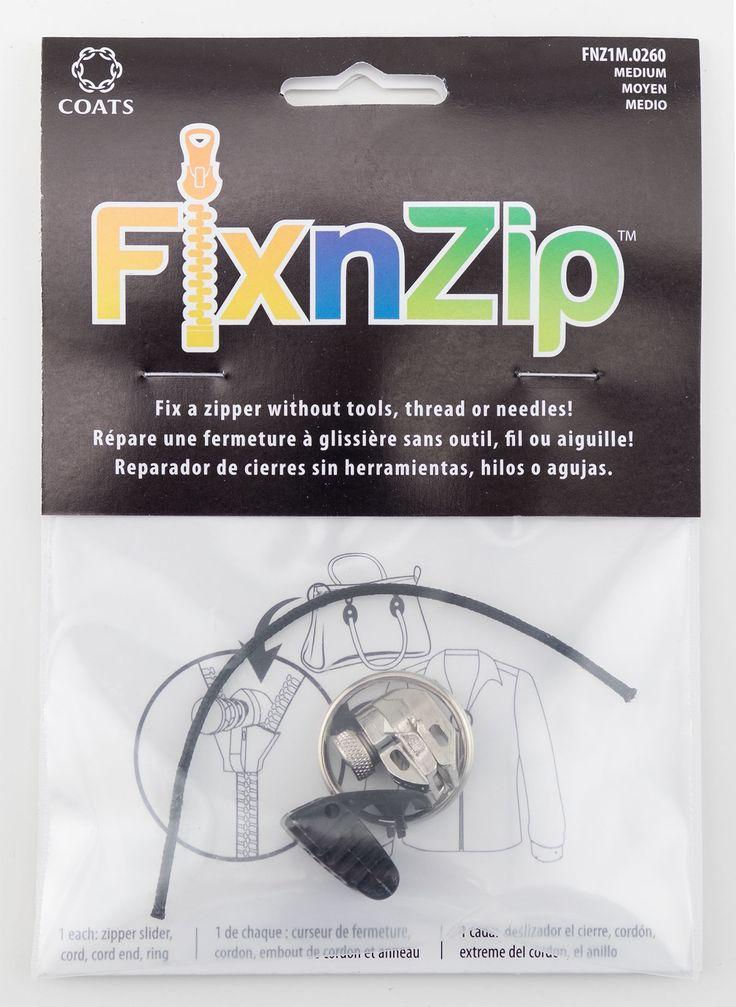 how to fix a zipper slider