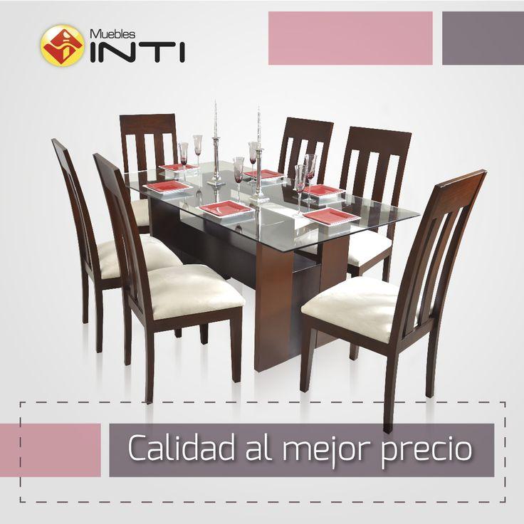mesa y 6 sillas , juego de comedor
