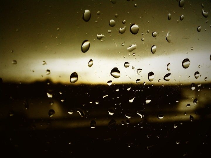 Typical rain photograph by me
