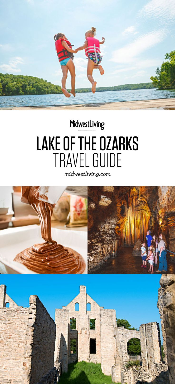 Settle in at your choice of Lake of the Ozarks resorts, cabins or hotels, then spend your days exploring the vast lake or the towns like Osage Beach that surround it. Check out our picks for what to do, where to eat and where to stay!