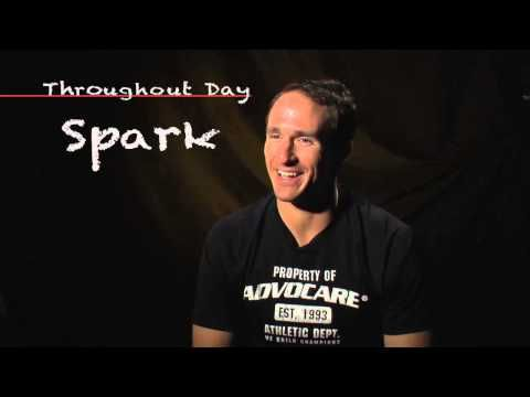 Drew Brees Daily AdvoCare Product Regimen
