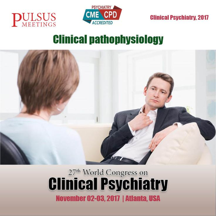 The third track of the psychiatry meeting is on #Clinical Pathophysiology. Clinical Pathophysiology is a convergence of pathology with physiology. It seeks to interpret the case outlines in clinical pathology, physiological processes or mechanisms whereby such condition develops and advances.