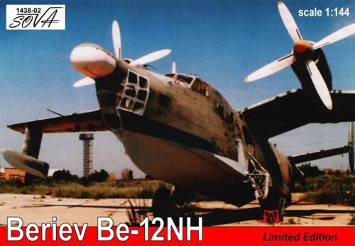 Beriev Be-12NH (Limited Edition). A Model, 1/144, injection, No.1438-02. Price: 15,12 GBP.