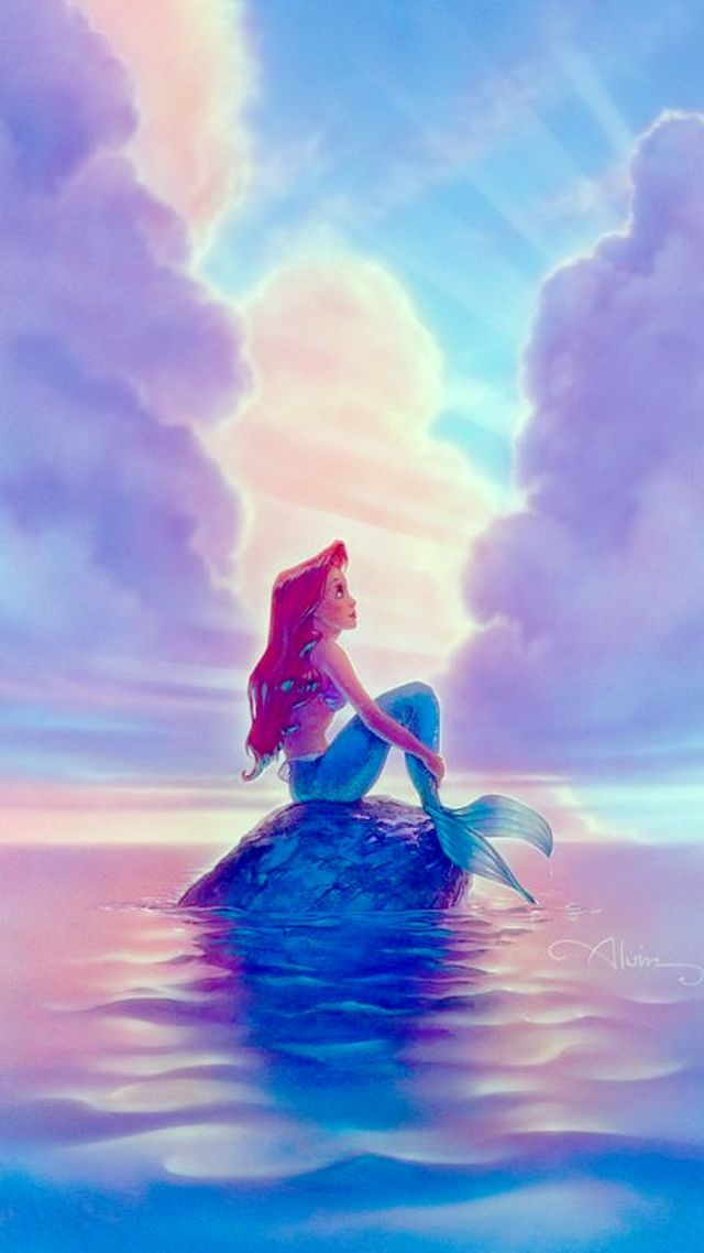 25 best ideas about little mermaid wallpaper on pinterest disney