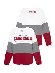 PINK Arizona Cardinals Varsity Crew. Arizona LadyBirds