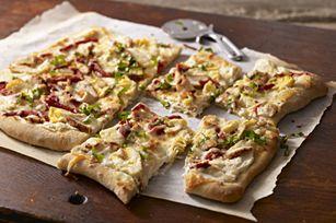 Grilled Chicken Flatbread recipe