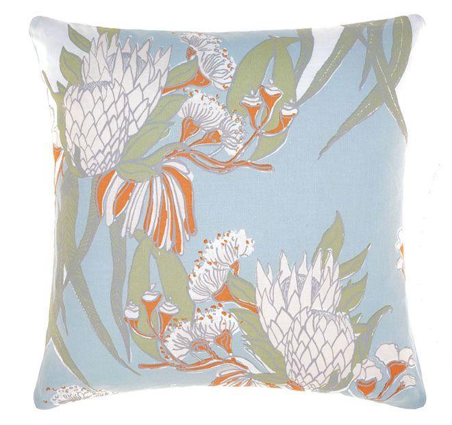 Linen House Naturals Rambler 50x50cm Filled Cushion Sky