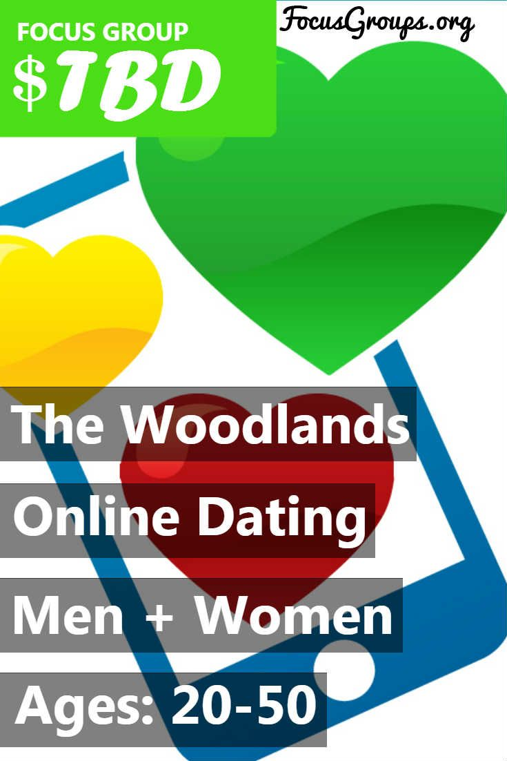 The Woodlands Area Chamber of Commerce is looking for Single online daters needed for a For a 2 hour session of market research relating to online dating sites and apps in The Woodlands, TX on Monday, May 1st, 2017 at 1:00pm. Participants will be served a Lunch and free lifetime membership. **Must be single. 20 - 50 year old men and women wanted. If you are interested in participating, please sign up and take the survey to see if you qualify!