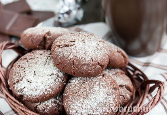 Čokoládové sušienky s kokosom