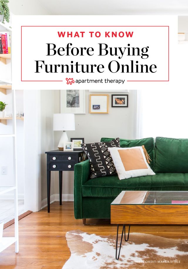What to Know Before Buying Furniture Online |  Buying a couch online may sound terribly risky, but I have a few helpful hints—from my own experience—that might help you if you're considering your own online purchase.
