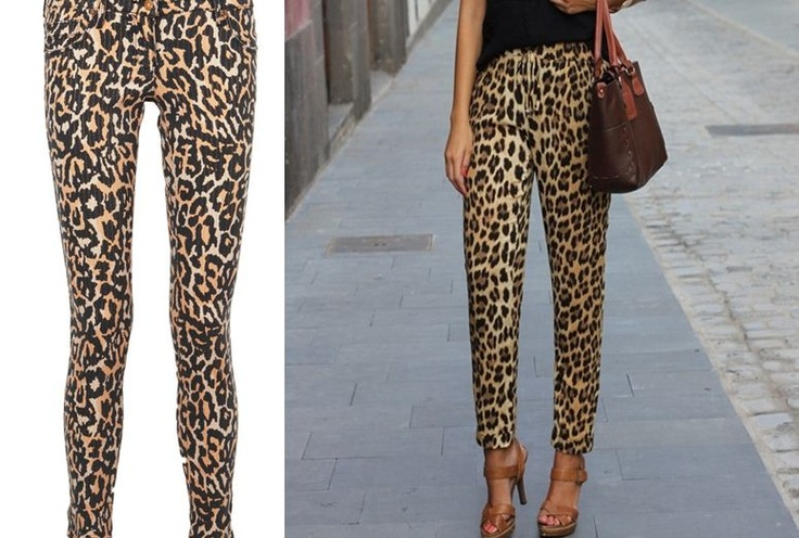 Can We Pull This Off? The Leopard Pant.. | My Writing ...