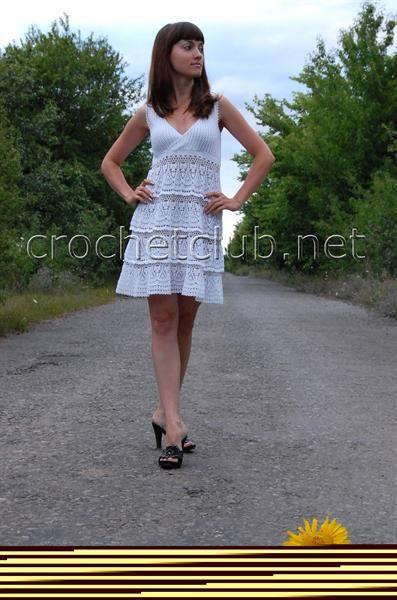 Белоснежное платье анны костуровой