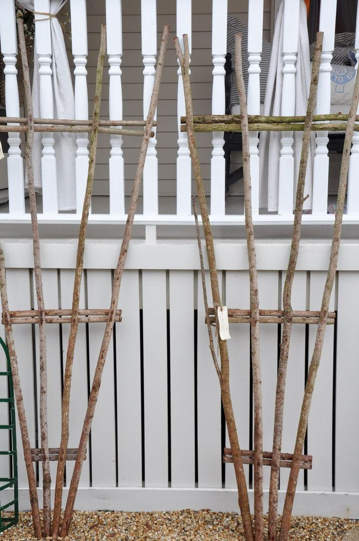 Construire son support à rempants avec quelques bouts de bois...