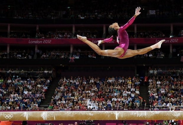 Gabby Douglas was born December 31, 1995.Gabby became the first African-American girl and the first girl of color or nationality to win the individual event. She also has the distinction of being the only American gymnast to win both team and solo gold as well. Despite her struggle with racism and doubt she rose triumphant. Chandler,D. (2013, Feb. 1) Gabby Douglas Becomes 1st Black Female Gymnast To Win Solo Gold Medal. www.newsone.com. Retrieved Feb. 21, 2013…