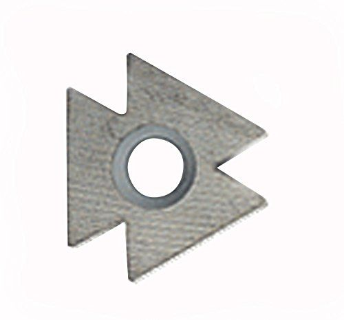 """Solid Carbide #Blade used to deburr sheet metal up to 3mm (0.12"""") thick. Can be used to scrape #flat surfaces. Six cutting edges."""
