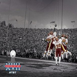 Over the next three weeks we will be celebrating #Redskins Super Bowl-winning playoff runs, starting with Super Bowl XVII. #TBT