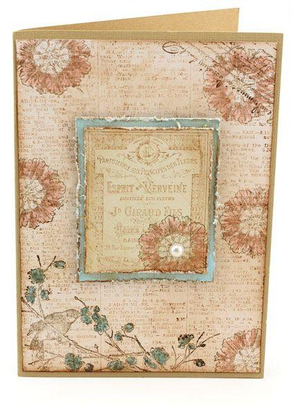 MT454 Vintage Esprit Card
