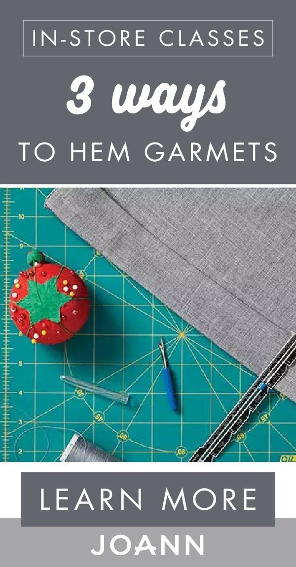Up your sewing skills with help from this class from JOANN ...