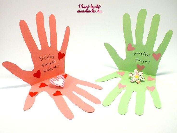 """Résultat de recherche d'images pour """"anyák napi ajándék ötletek papírból"""""""