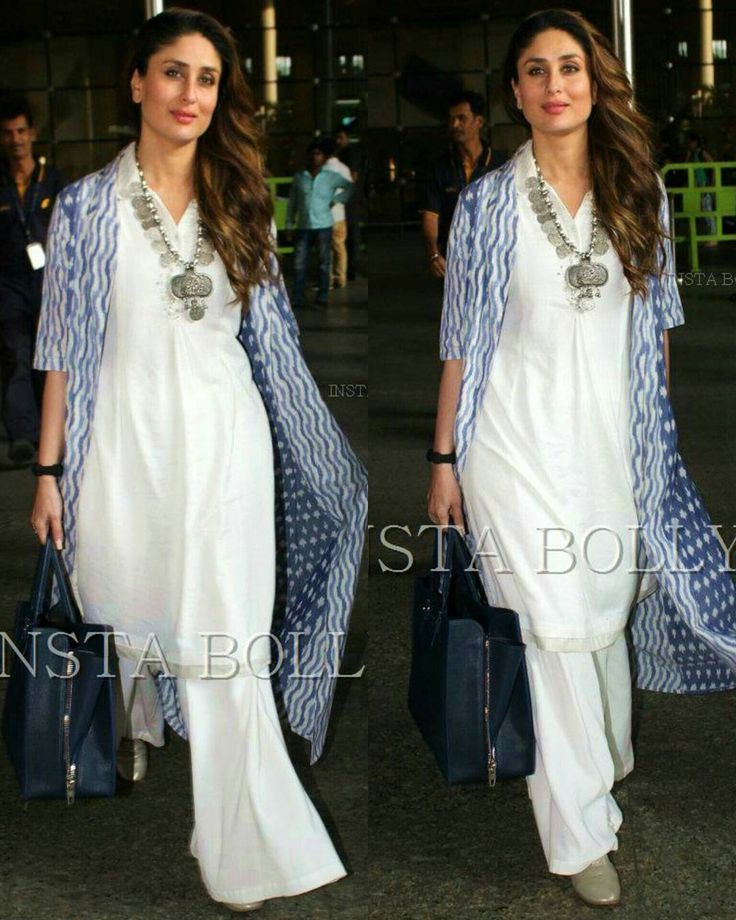 Rate the look 1..........10      . .  @BOLLYWOOD   Kareena Kapoor Khan spotted at Mumbai Airport in White Traditional Wear. Her Movie  of Ki and Ka will be releasing Worldwide this Friday .  @BOLLYWOOD  #instabollywood  #bollywood #india #indian #mumbai #india  #instabollywood #bollywood #bollywoodreport #Bollywoodstylefile #bollywoodstyle #hairstyle #kareena #kareenakapoor #kareenakapoorkhan #kiandka #makeup #Stylefile #fashion #fashiontimes #PVRgoldclass #PVRNoida #uttarpradesh…