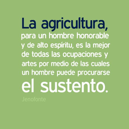 #Agricultura
