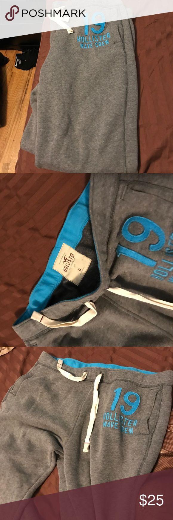 Hollister sweatpants New classic hollister sweatpants size XL Pants Sweatpants & Joggers