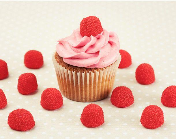 Himbeer-Cupcakes - Süße Naschträume