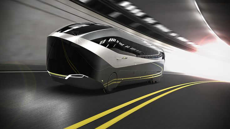 Aero 24-7 is an aerodynamic high efficiency coach named for its non-stop travel, night and day. Aero's integrated autonomous driving mode streamlines the transit