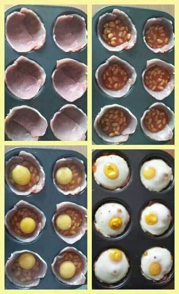 Egg and bacon