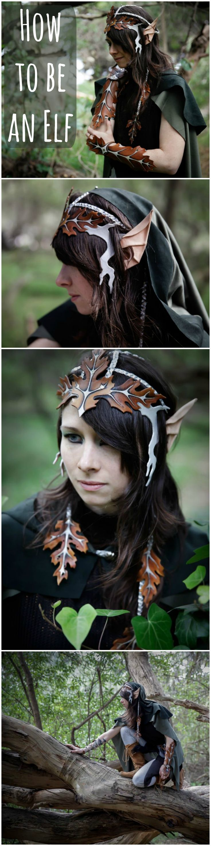 Leather Elf Costume | Learn all the leather working techniques you need to create your own elf alter ego!