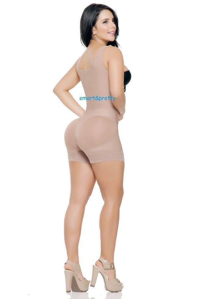 Faja Colombiana Levantacola Short 3 Hooks Ann Slim,Curvas Reales,Moldeate,Reduce