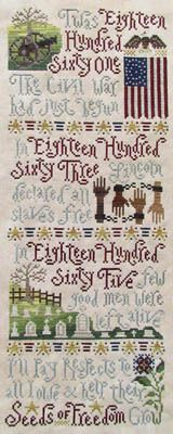 Seeds Of Freedom - Cross Stitch Pattern