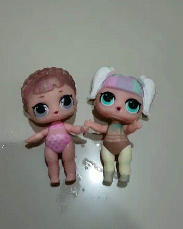 Original Lol Unicorn Lol Surprise L.O.L Unicorn lil sister dolls color change