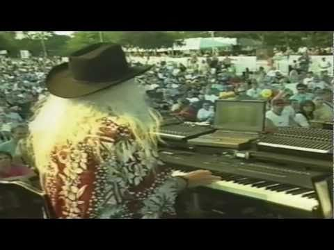 "THE LEON RUSSELL BAND  ""SIXTEEN TONS""  LEON RUSSELL, TEDDY JACK, SUGAREE, JOHN GILES, GRANT WHITMAN, JACKIE WESSELL"