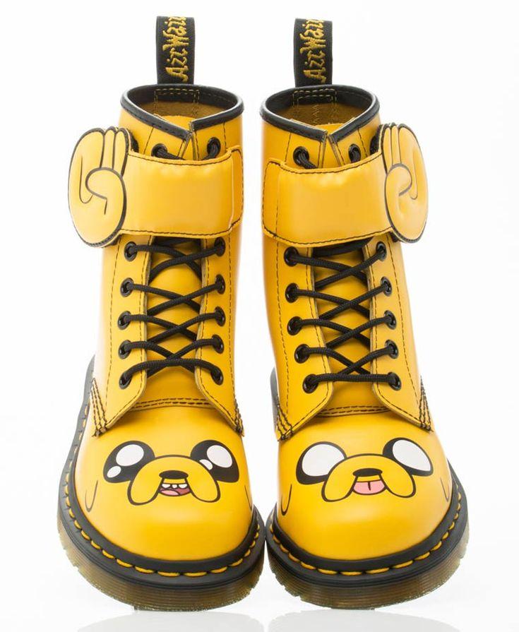 Adventure Time x Dr. Martens – Des chaussures pour les fans de Finn et Jack (image)