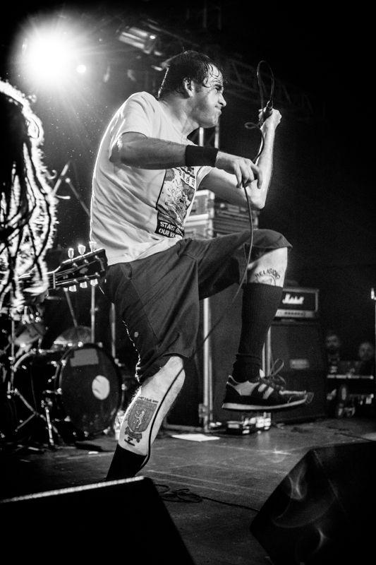 Napalm Death - koncert: Napalm Death, Kraków 'Kwadrat' 4.05.2017