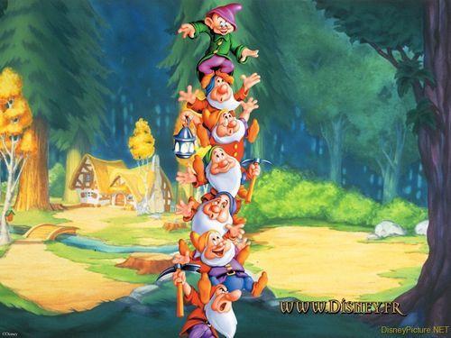 Snow White and the Seven Dwarfs Wallpaper - snow-white-and-the-seven-dwarfs Wallpaper