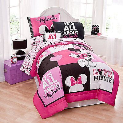 Minnie Mouse Twin Comforter