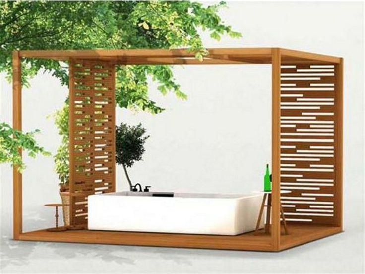 Gartenpavillon aus Holz T TERRACE by Deesawat Industries Co.