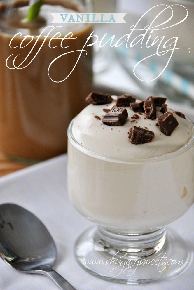 Vanilla Iced Coffee Pudding