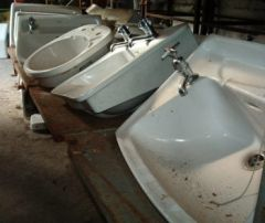 Sinks and Toilet Bowls