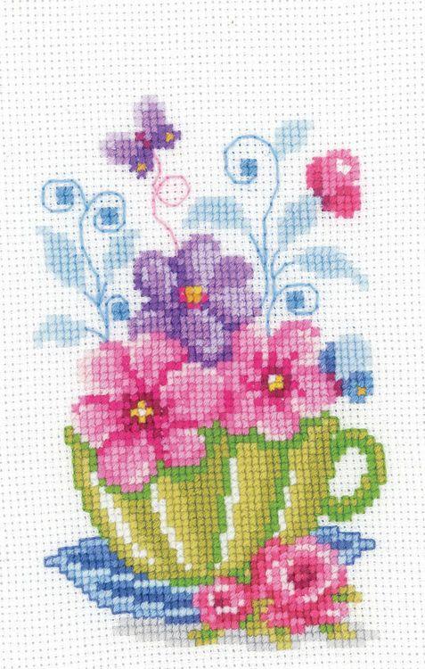 Imagini pentru tea cross stitch