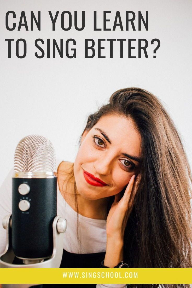 Learning to sing does not have to be complicated! Learn to