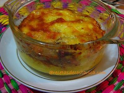 Pastel de Plátano maduro, Costa Rican food (a Costa Rican Food blog!!!)