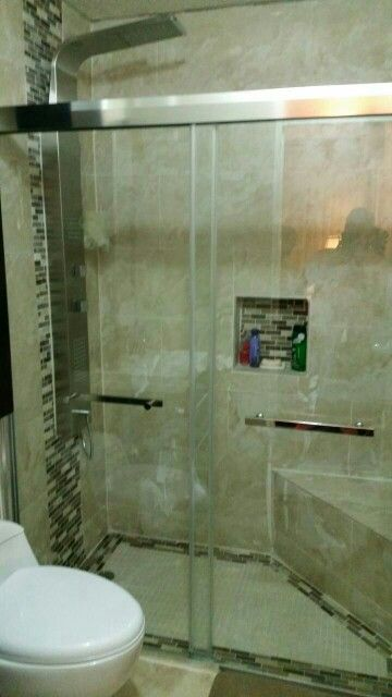 Instalacion de puerta de ducha
