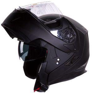 Bell Rogue Open Face Harley Cruiser Motorcycle Helmet. See more. 7.  Motorcycle /Snowmobile Matte Black Dual Visor Modular Helmet Dot