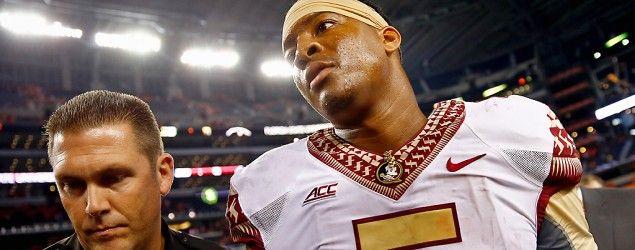 FSU quarterback Jameis Winston yelled a vulgar phrase in the student union. (Getty Images)