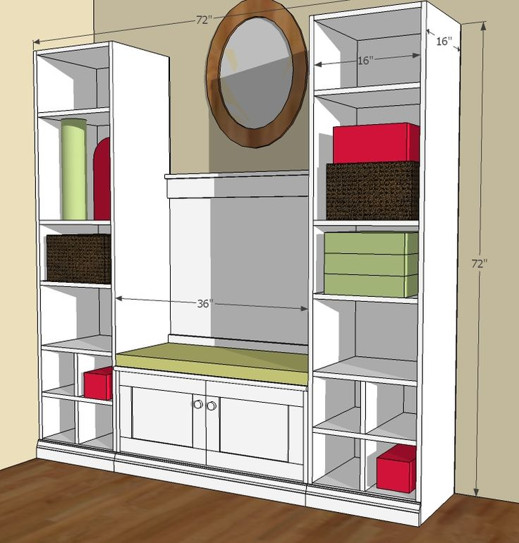 Ana White | Build a Cutest Mudroom | Free and Easy DIY Project and Furniture Plans
