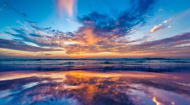 Ocean Sea Sky Wallpaper Hd Nature 4k Wallpapers Images Photos And Background Sunrise Wallpaper Beach Sunset Wallpaper Beautiful Nature Wallpaper Hd