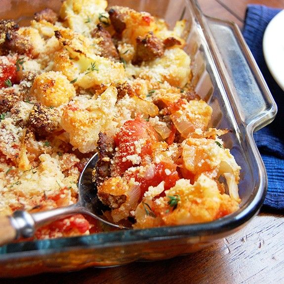 This casserole is straightforward and simple. It's tasty and nourishing. It highlights both veggies and protein. It's a welcome shift away from creamy, soupy casseroles, with plenty of its own hearty ingredients and texture. This wholesome sausage and cauliflower casserole will be a favorite new...